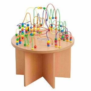 """Kącik dla dzieci """"Stolik okrągły z przeplatanklami"""""""