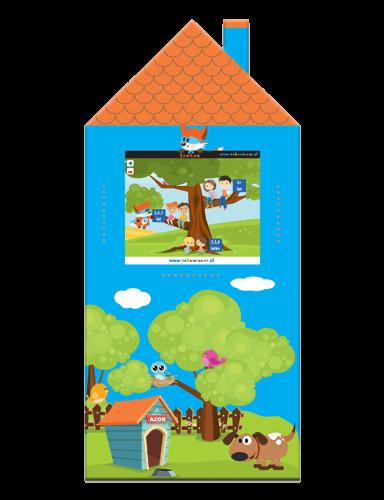 """Interaktywny kącik dla dzieci - panel """"Domek"""""""